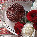Birthday cake!! triple bonheur au chocolat