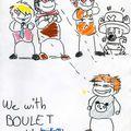 Dédicasse de BOULET !