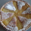 tarte aux poires frangipane