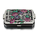 Vanity case 'chrysanthemum', ca. 1928, by lacloche frères