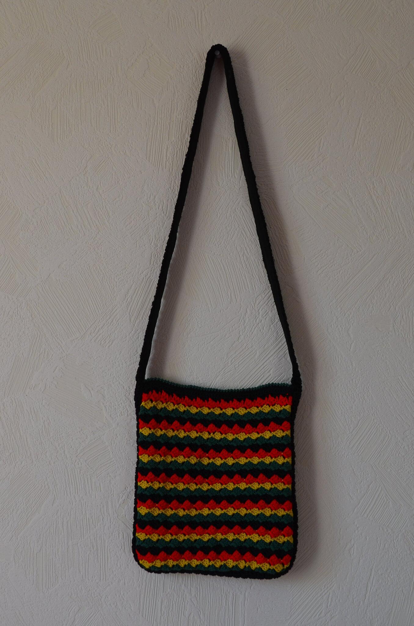 sac en bandoulière au crochet