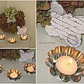 Moules et bougies