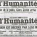 Chapitre Sept, 1920, la naissance du Parti Communiste français :
