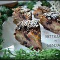 Bettelmann ou Mendiant aux Cerises Noires, Pommes et Chocolat...