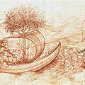 Allégorie avec le loup et l'aigle / Léonard De Vinci