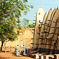 Chronique burkinabée - 1990 / 2005 (24/32). La vieille mosquée de Bobo-Dioulasso.