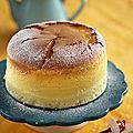 Cheesecake japonais doux et léger