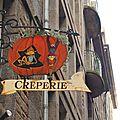Saint malo <b>crêperie</b> des lutins enseigne