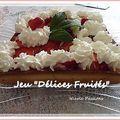 Une petite vidéo pour vous mes chères visiteuses et un joli petit roulé...2 recettes aujourd'hui...