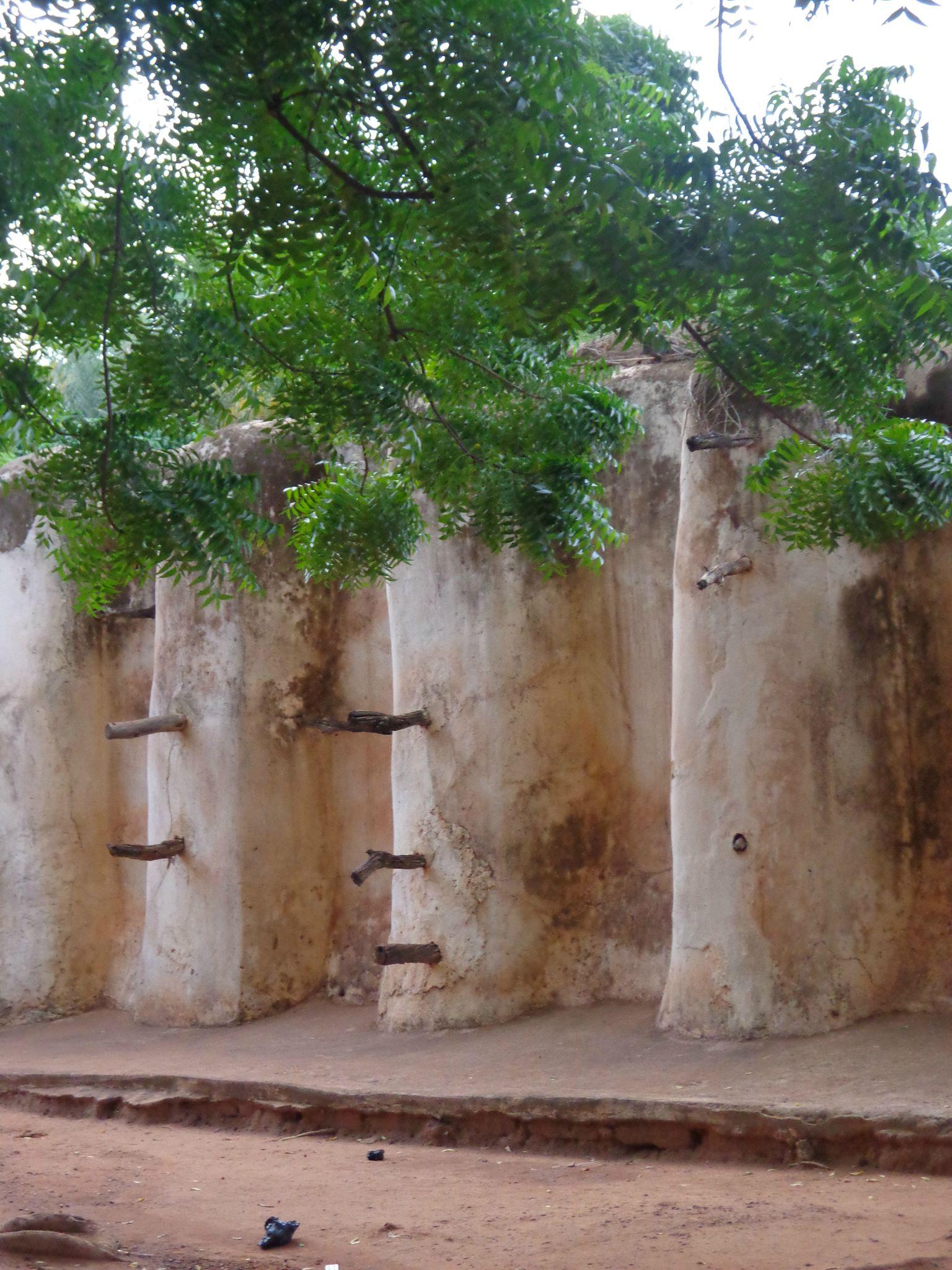 mur de la mosquée de Bobo
