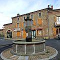 fontaine à Echandelys