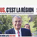 Nous c'est la région dans l'Ain. Les mots de <b>Jean</b> Jack Queyranne et de <b>Jean</b> <b>François</b> <b>Debat</b>