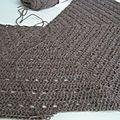 Eva's shawl : les premiers rangs
