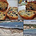 Cake aux tomates séchées, olives et chèvre