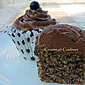 The 4th cupcakes's day : cupcake de metz à la chantilly chocolat/cassis
