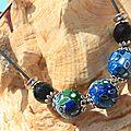 Bijoux en bleus : eve