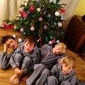 LOOK PÈRE-FILS : pyjama party avec l'<b>Orangerie</b>