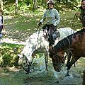 balade equestre gastronomique à La Lucerne d'Outremer (96)