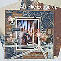 Duo de pages Il est temps Amélie Ecoscrap