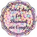 <b>Pastel</b>' Day for Diamant sur l'ongle