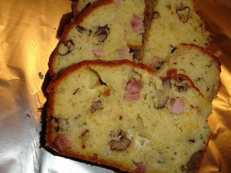 Recette Cake De Sophie Lard Roquefort