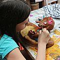 Stage (3) le ponçage et la peinture