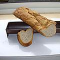 Baguette sans gluten à la farine de quinoa pour les gourmands