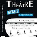 Stage de théâtre à alès - 22/23 février 2014