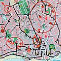 Des visites de Lisbonne (27/28). Les lieux d'<b>habitation</b> de Fernando Pessoa dans Lisbonne.