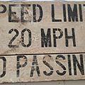 Speed limit...