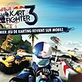 Red bull kart fighter 3 - unbeaten tracks disponible sur ios et android