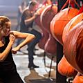 Divergent Movie Shailene Woodley as Tris Training Scene