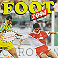 Album ... <b>Football</b> panini FOOT 1994