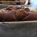 Cake aux amandes-chocolat baies de gogi