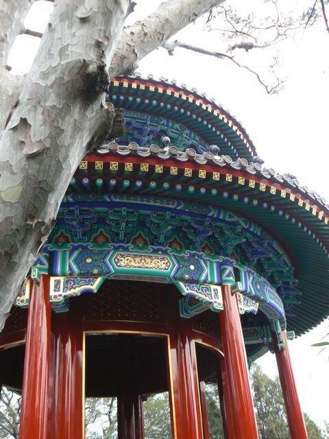 Le temple au sommet
