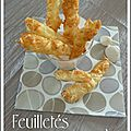 Feuilletes au fromage