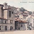 ancienne <b>place</b> Fourvieux, à Saint-Chamond