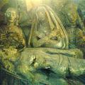 Basilique St Michel, la Mise au Tombeau, détail