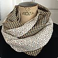 Snood été vintage graphic 5