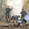 Pils, soldats de l'armée de versailles, 1871