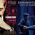 Leonard cohen - im your man / live in london