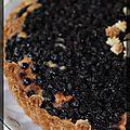 P'tite tarte amandine aux myrtilles