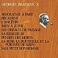 Mysoginie À Part - <b>Georges</b> Brassens