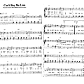Can't by me love (partition - sheet music)