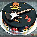 Gâteau rock