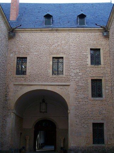 Ségovie-intérieur de l'Alcazar