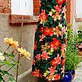 Boutique : robe hibiscus