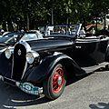 Hotchkiss <b>Hossegor</b> Roadster des années 30