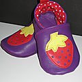 chaussons fraise 015