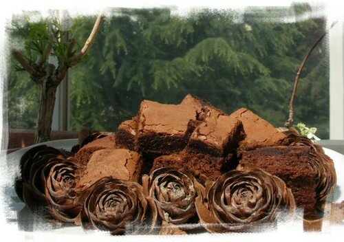 Brownies pur nutella